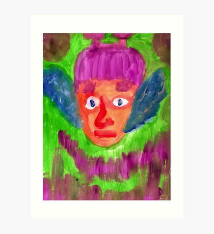 Elf Boy Art Print