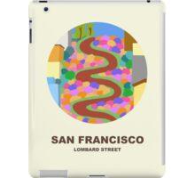City Art San Francisco Lombard street iPad Case/Skin