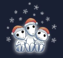 Tree Spirit Friends Christmas- Mononoke Kids Tee