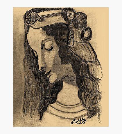LEONARDO DA VINCI'S MAGDALENE Photographic Print