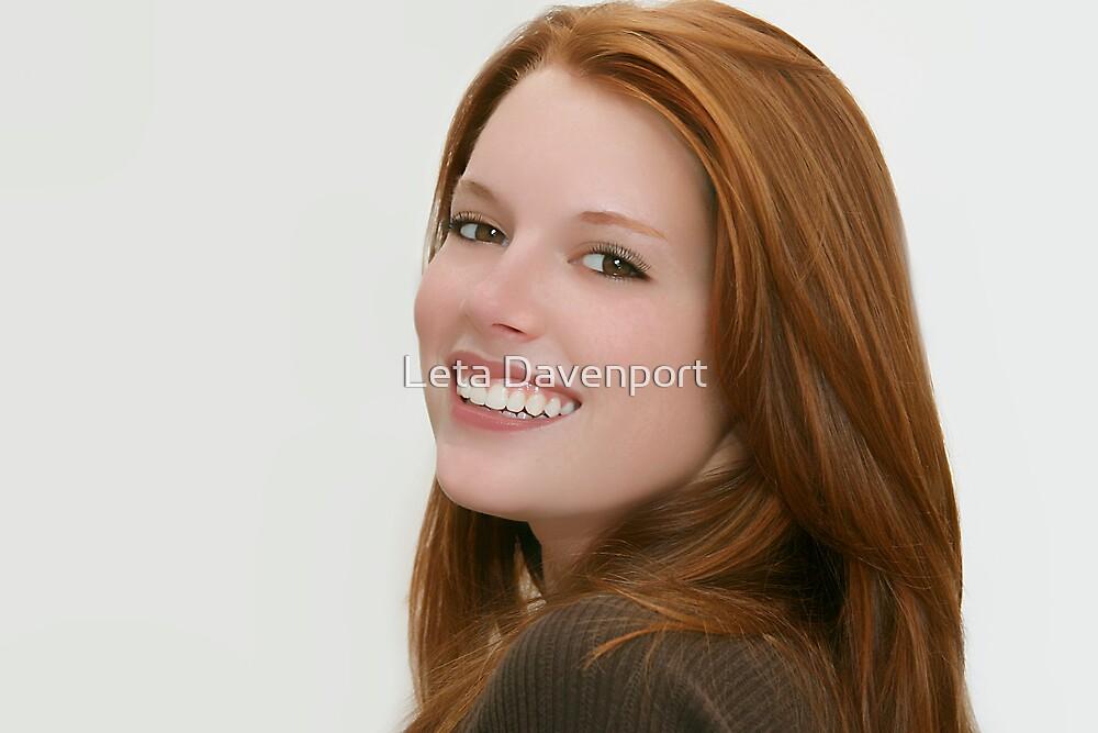 Red Hair Model by Leta Davenport