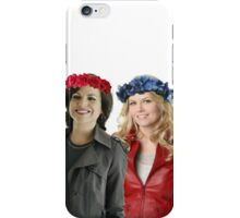 Swan Queen Flower Crowns iPhone Case/Skin