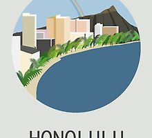 City Art Hawaii Honolulu by uzualsunday