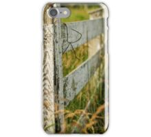 Forgotten Fence iPhone Case/Skin