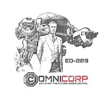 OMNICORP - Corporate sponsored apparel Photographic Print