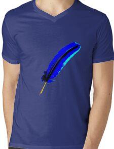 Blue kiss Mens V-Neck T-Shirt