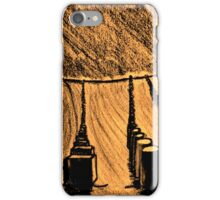 SHAPES IN THE SAND iPhone Case/Skin