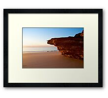 Dusk at Eco Beach - Western Australia Framed Print