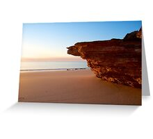 Dusk at Eco Beach - Western Australia Greeting Card
