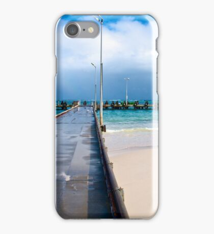 Jetty at Lancelin - Western Australia iPhone Case/Skin