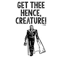 Thor Avengers Photographic Print