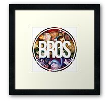 Bros Roxeles World Framed Print