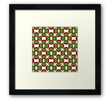Holly Tree Tracery Framed Print