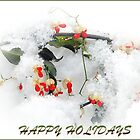 Happy holidays by Judy Seltenright