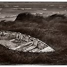 Old Boat ... Albany Foreshore by Malcolm Heberle