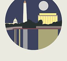 City Art Washington D.C by uzualsunday