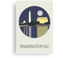 City Art Washington D.C Canvas Print