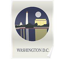 City Art Washington D.C Poster