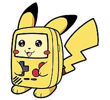 Game Boy Pikachu Photographic Print