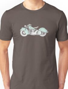 Indian Chief Motorcycle 1948  Unisex T-Shirt