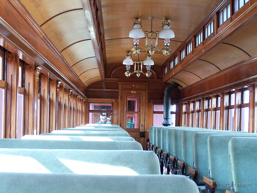 Old Passenger Train by rglehmann
