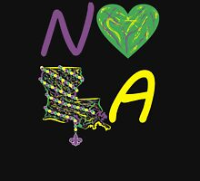 I heart NOLA (Mardi Gras) Womens Fitted T-Shirt