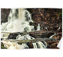 Iguaza Falls - in close Poster