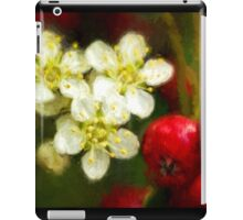 Pyracantha contrasts iPad Case/Skin