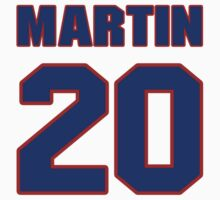 Basketball player Cartier Martin jersey 20 T-Shirt