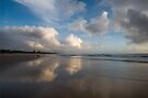 Being There _ Coolum Beach by Barbara Burkhardt