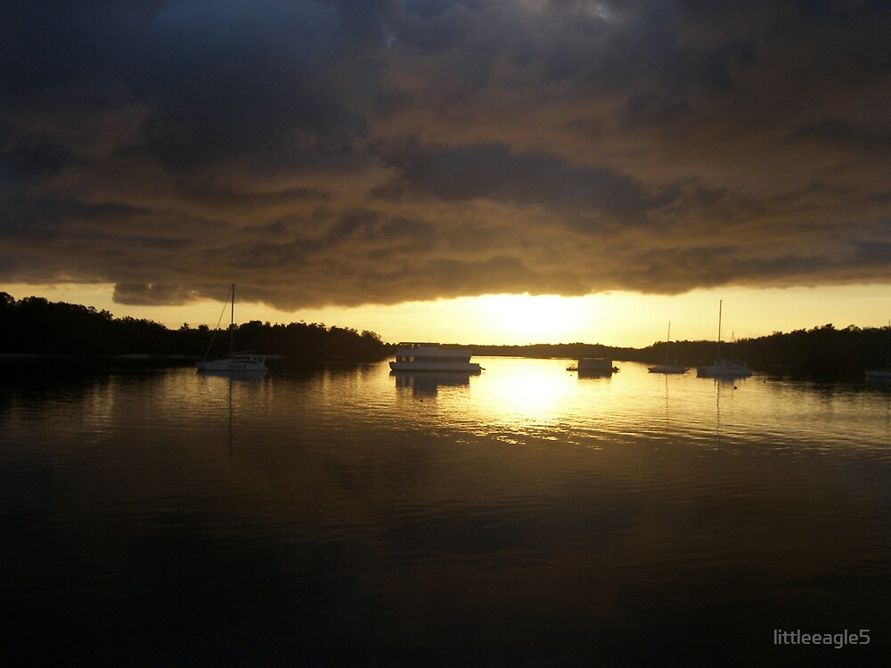 Sunrise on the Gold Coast by littleeagle5