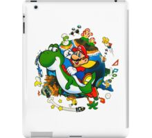 Super Mario World Planet. iPad Case/Skin