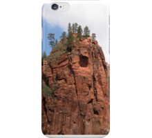 Pines Atop Red Rock iPhone Case/Skin