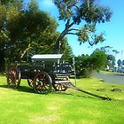 *Old Wagon on Foreshore at Port Fairy, Vic. Australia by EdsMum