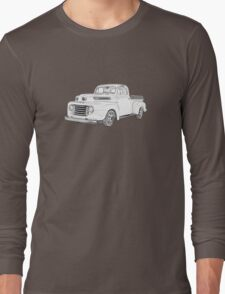 1950 Ford F1 Pickup Long Sleeve T-Shirt