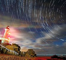 Point Lonsdale lighthouse by James Collier