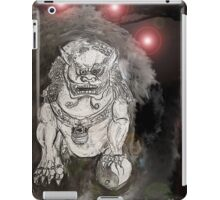 Foo Dog 4 iPad Case/Skin