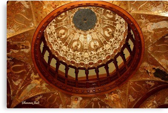 Flagler College Dome ~ Gilded Ceiling by SummerJade