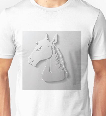 paper horse head Unisex T-Shirt