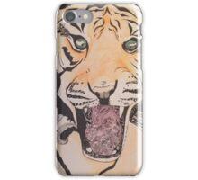 Zen Doodle Tiger iPhone Case/Skin