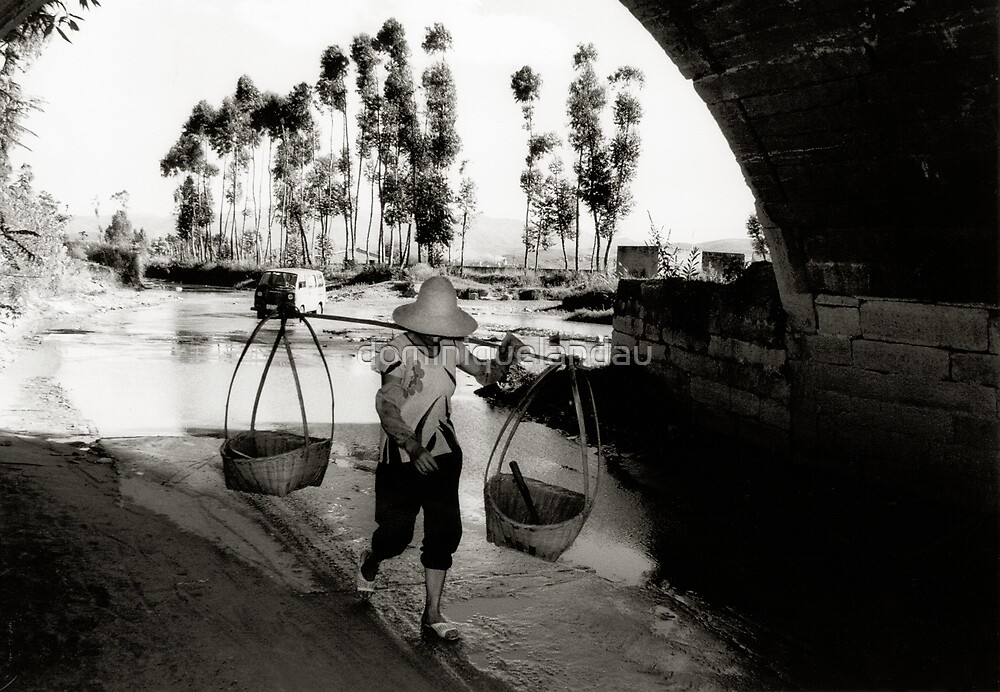 under the bridge  by dominiquelandau
