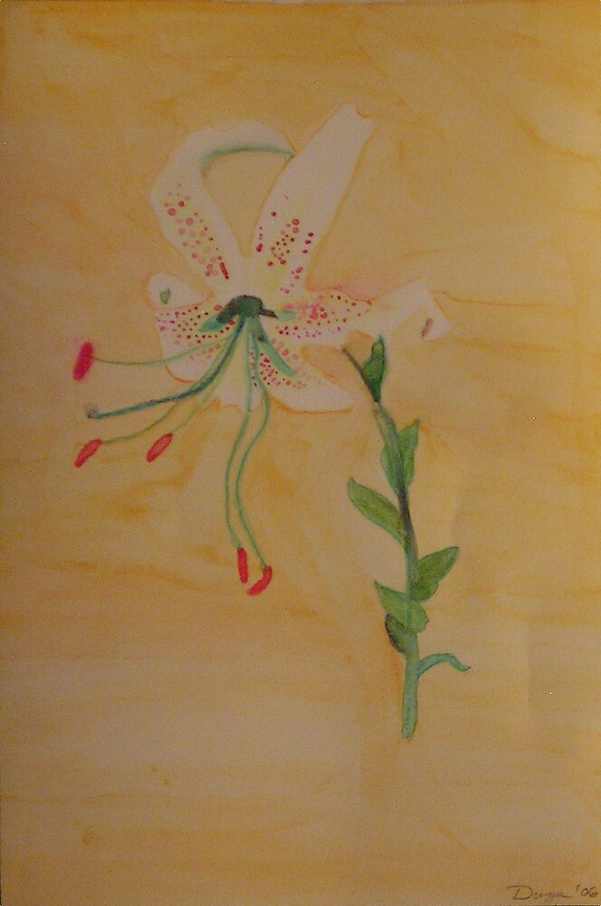 "Tiger Lily by Robin ""Durga"" Hoffman"