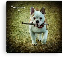 Happiness Is... Canvas Print