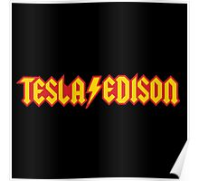 Tesla/Edison vs. AC/DC (Monsters of Grok) Poster