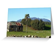Mt Roland, Tasmania Greeting Card