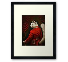 The Hermitage Court Chamber Herald Cat Edited version Framed Print