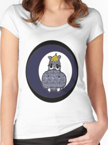 Hippo Women's Fitted Scoop T-Shirt