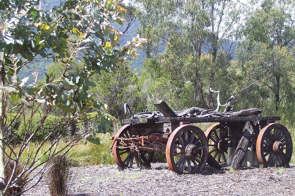 rustic wagon by gaylene
