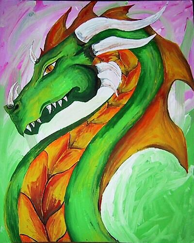 Dragon #1 by Melissa Krumpe