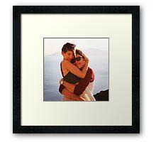Zoe and Alfie Framed Print